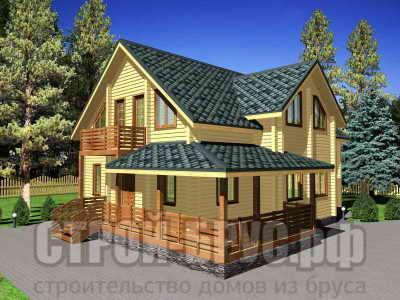 Проект дома 12х13 из бруса