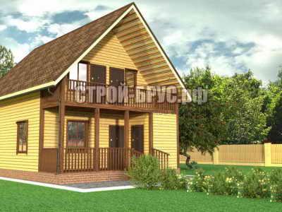 Проект дома 10х7