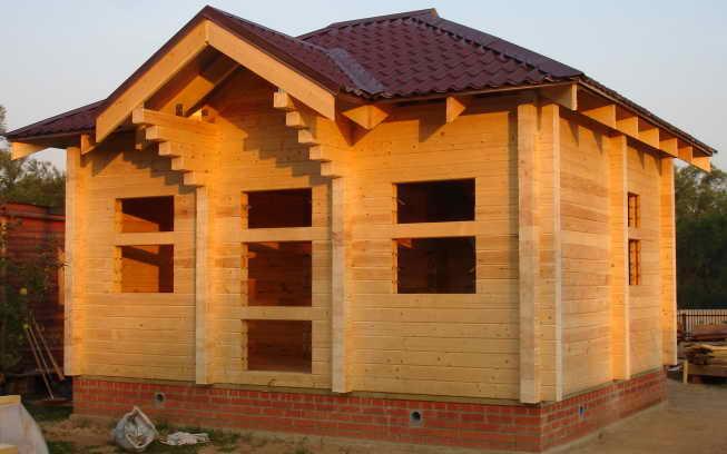 Профилированный брус для строительства дома