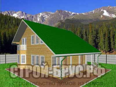 Дом из бруса 11х11