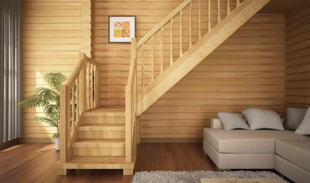 Строим лестницу в доме