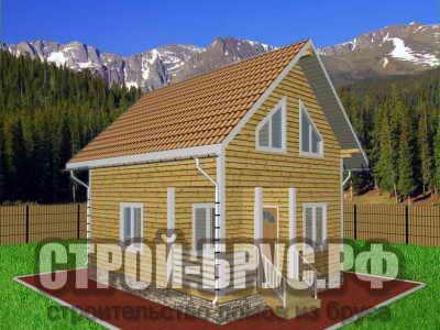 Дачный домик 6х7