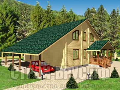 Дом 10х12 с гаражом