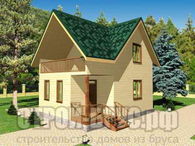 Дачный домик 6х8