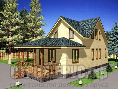 Проект дома 6х15