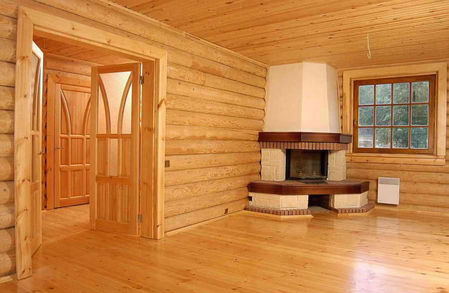 Деревянные дома фото интерьер внутренний
