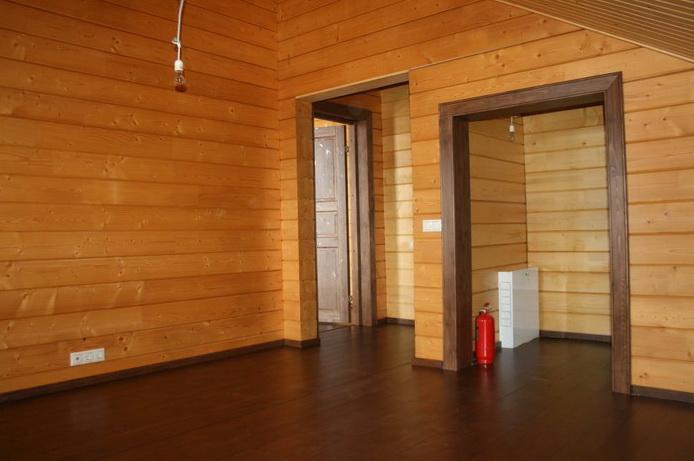 Внутренняя отделка дома из бруса