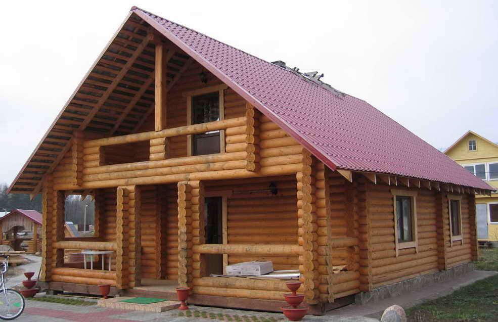 Сколько простоит дом из бревна