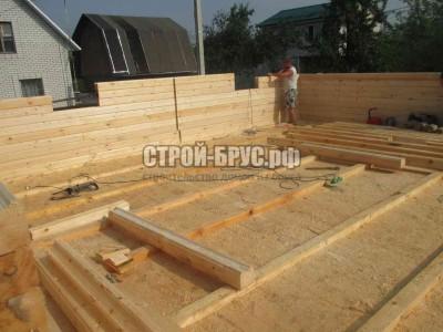 Строительство дома из бруса в Тульской области
