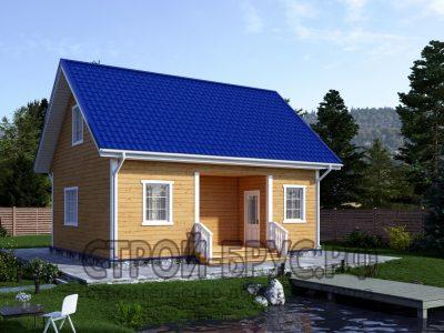 Садовый домик 7х8 из бруса