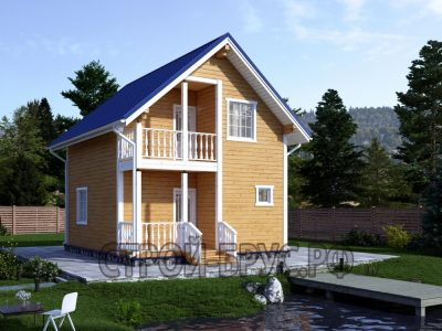 Дом из бруса 7х6