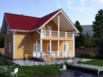 Дом из бруса 12х12