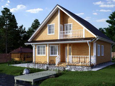 Дом 10х12 с мансардой