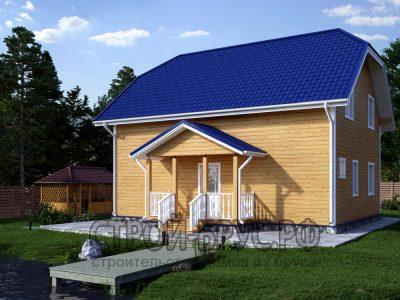 Проект жилого дома 8х10