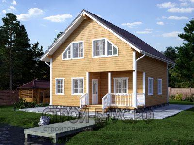 Дом из бруса 8х9 планировка