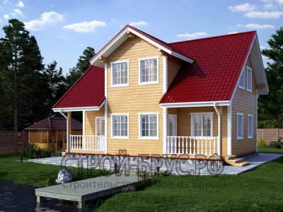 Проект дома 7,5х10