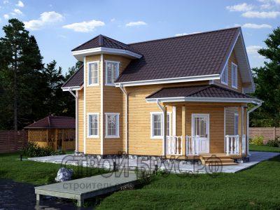 Дом 7х9 из бруса