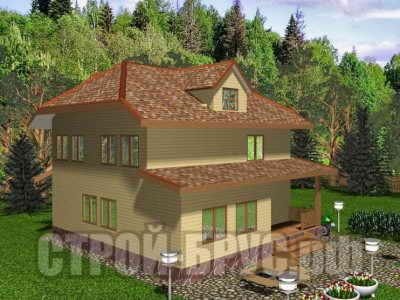 Проект дома 8х10 в 2 этажа